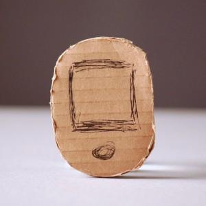 Cardboard puck