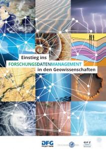 """Titelbild """"Einstieg ins Forschungsdatenmanagement in den Geowissenschaften"""""""""""