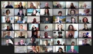 Zoom Screenshot der Teilnehmer*innen
