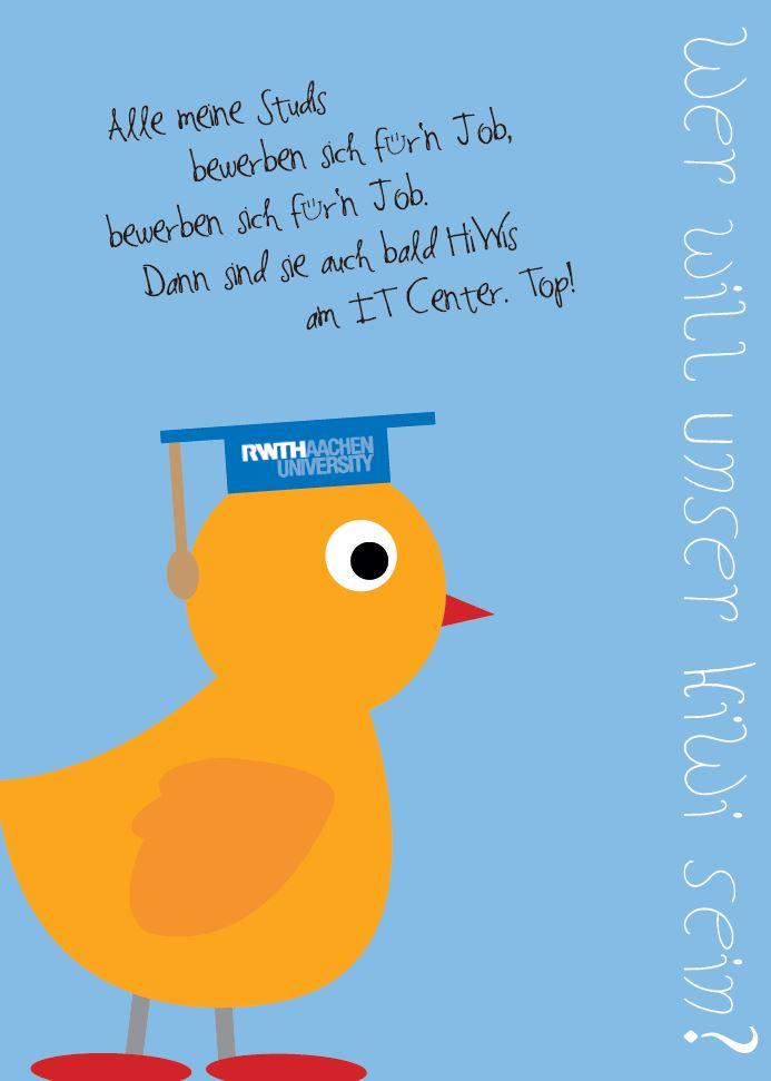 Wir suchen studentische Hilfskräfte. Werden Sie Hiwine oder Hiwi am IT Center!