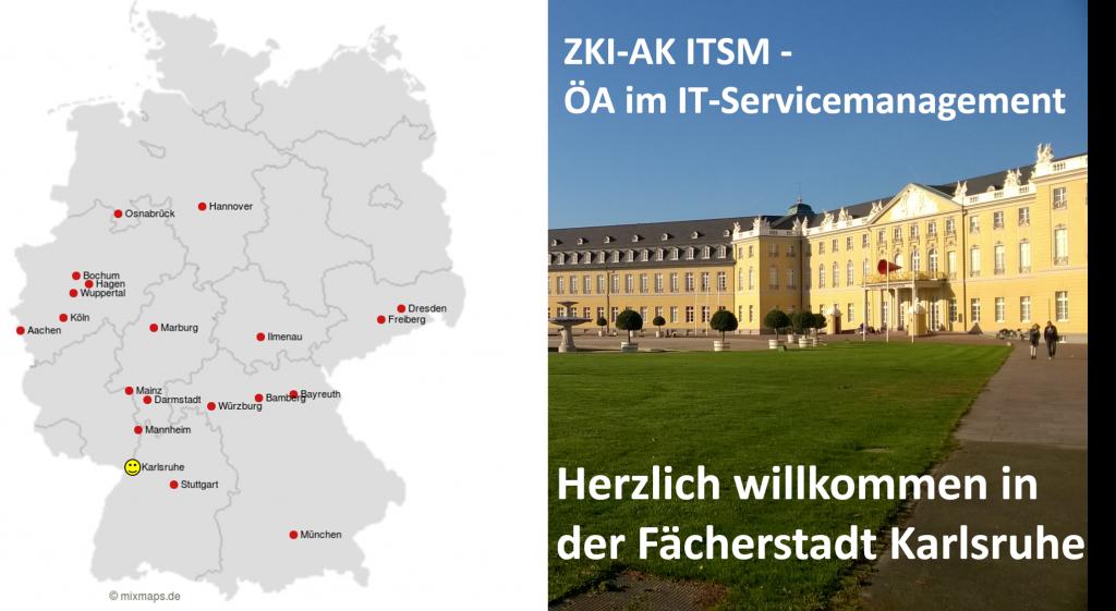 Vertrerinnen und Vertreter insgesamt 20 deutscher Hochschulen finden sich in der Fächerstadt Karlsruhe zusammen, um im ZKI Arbeitskreis Öffentlichkeitsarbeit im IT-Servicemanagement in den Austausch zu gehen.