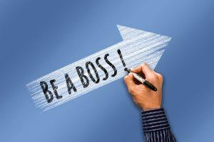 Be a Boss! Zu deutsch: Sei mal Chefin oder Chef! (Foto: geralt via pixabay.com)