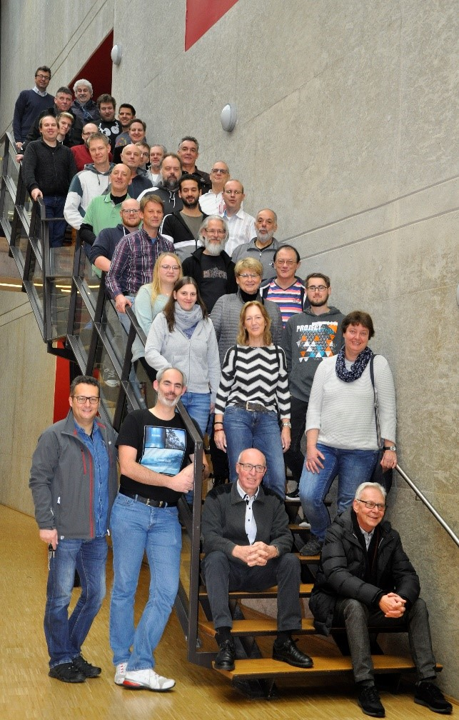 Die Teilnehmenden des 38. IT-Fachseminars in Aachen.