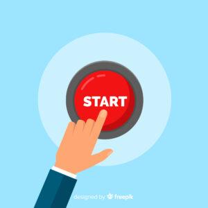 Symbol image: Start button