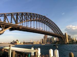 harbour bridge (Blick aus dem Luna Park)