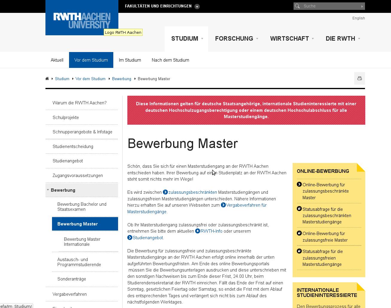 bild_masterbewerbungen - Master Bewerbung