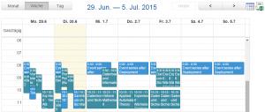 L2P-Kalender Beispiel