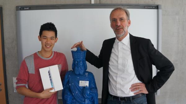 Eric Chow ist der Gewinner des iPads