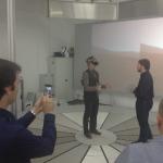Beam me up Scotty - Die Delegation der ETH Zürich testet das Holodeck beim IMA/ZLW