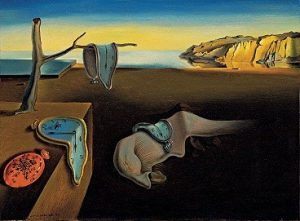 Salvador Dalí, The Persistence of Memory, 1931. From Wikipedia