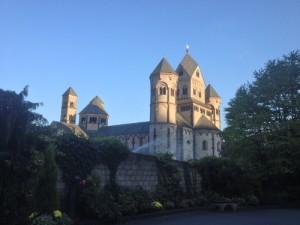 The monastery of Maria Laach, foto by Andreas Künsken