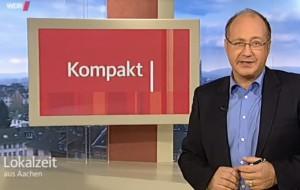 """""""SAM on Tour"""" in der Lokalzeit Aachen."""