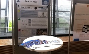 SAM beim Talk Lehre. Foto: Christian Marquardt/RWTH Aachen